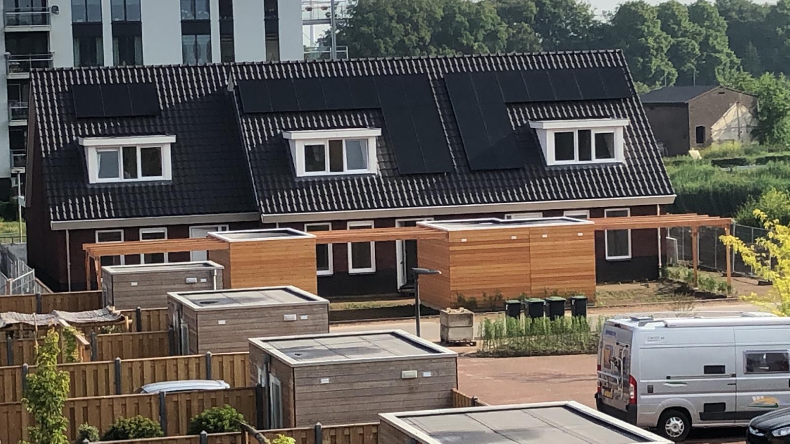 ULft, 9 llb woningen opgeleverd (1)